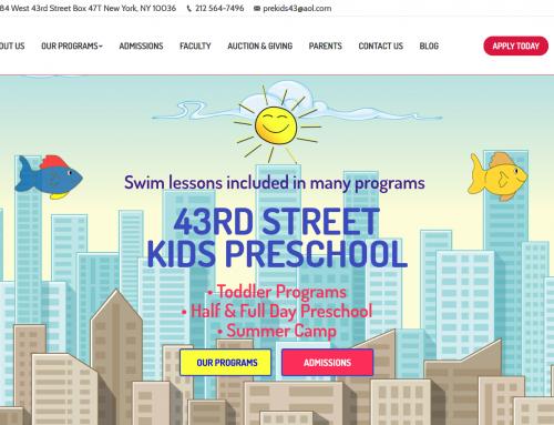 43rd Street Kids Preschool