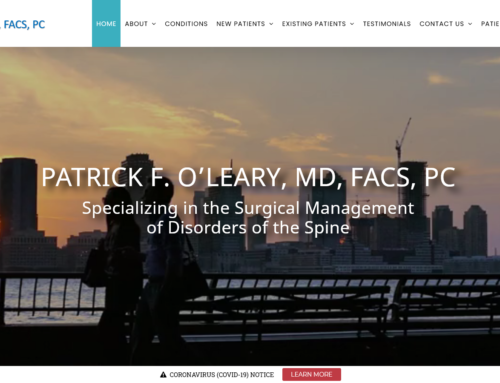 Dr. Patrick F. O'Leary, Spine Surgeon