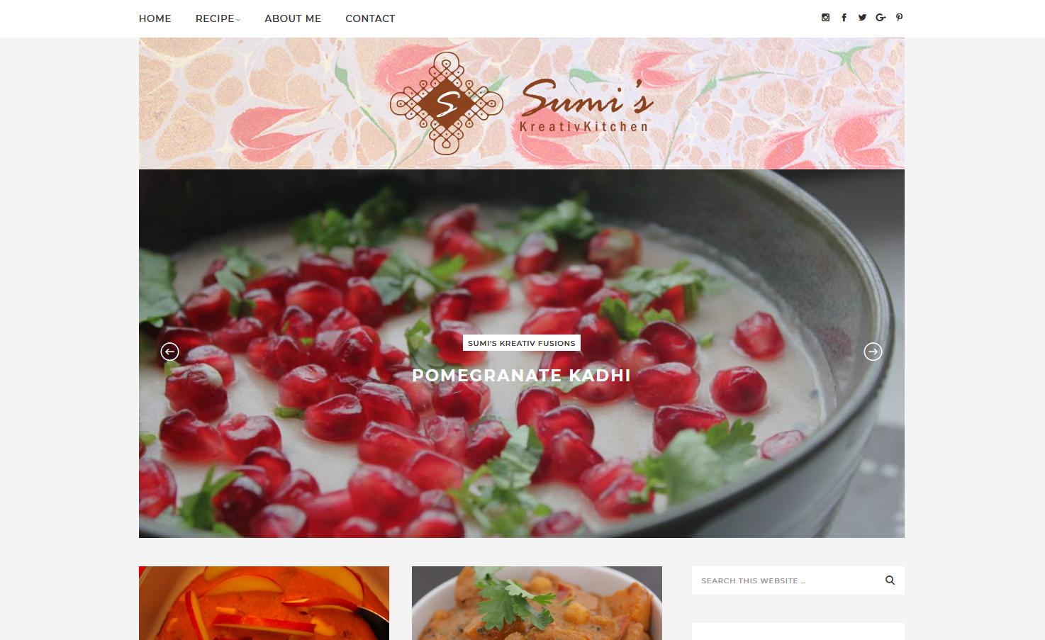 Sumi's Kreative Kitchen